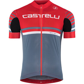 Castelli Free AR 4.1 FZ Jersey Herren red/light/steel blue